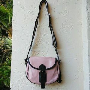 Bally Leather Saddle Bag